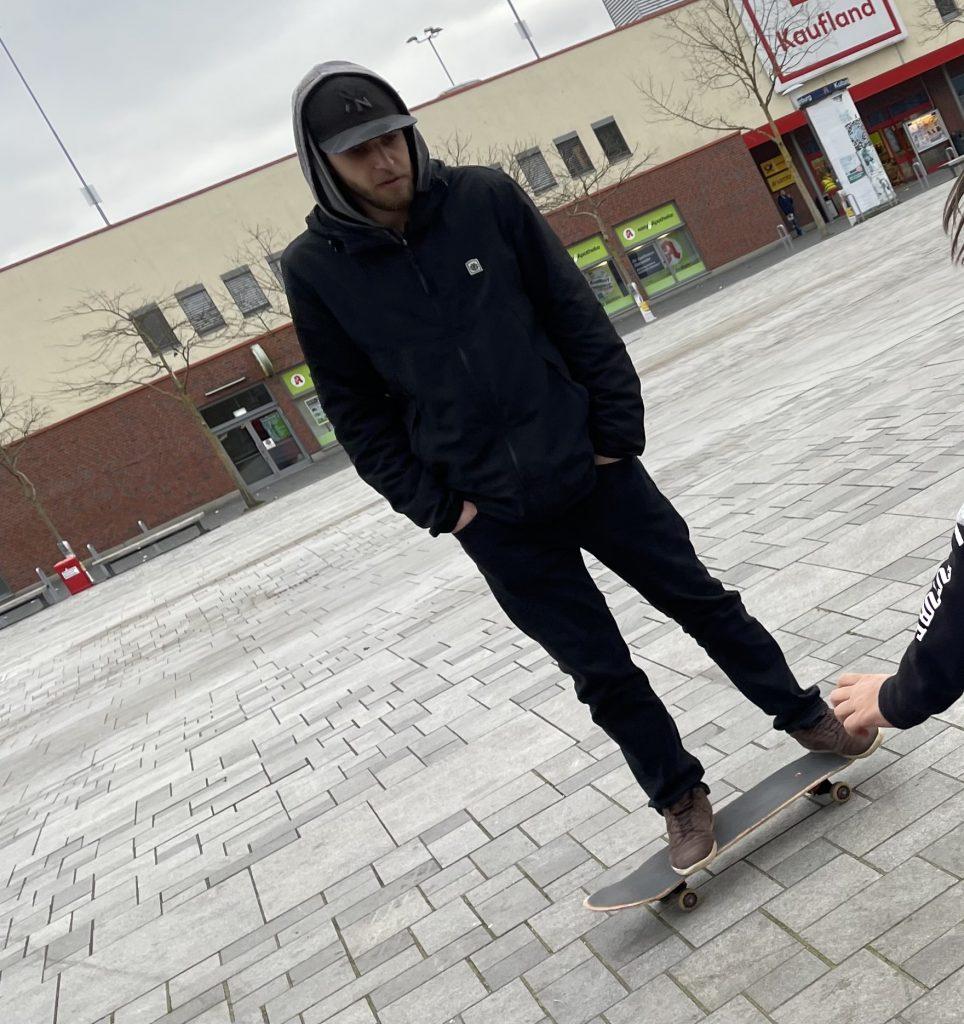 Pady beim skaten