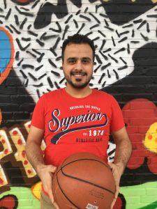 Foto von Mohsen unsere Sportskanone.